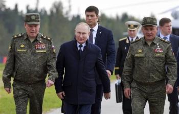 Ông Putin thị sát tập trận quân sự