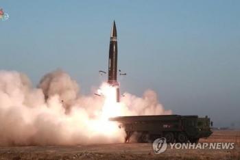 Triều Tiên phóng tên lửa ra Biển Hoa Đông