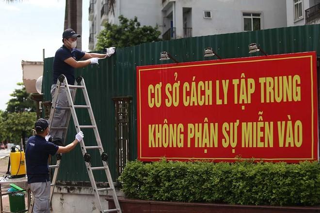 Phát hiện 3 ca Covid-19 ở 3 xã khác nhau của huyện Thanh Trì, một người ở toà nhà Tứ Hiệp Plaza ảnh 1