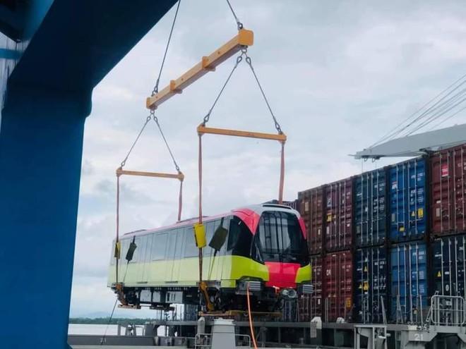 10 đoàn tàu tuyến metro Nhổn- Ga Hà Nội đã có mặt ở Việt Nam ảnh 1