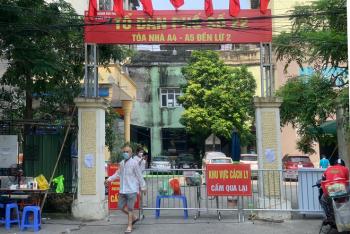 """Bốn người ở toà nhà A5 Đền Lừ dương tính, ổ dịch đang """"nóng"""" nhất Hà Nội"""