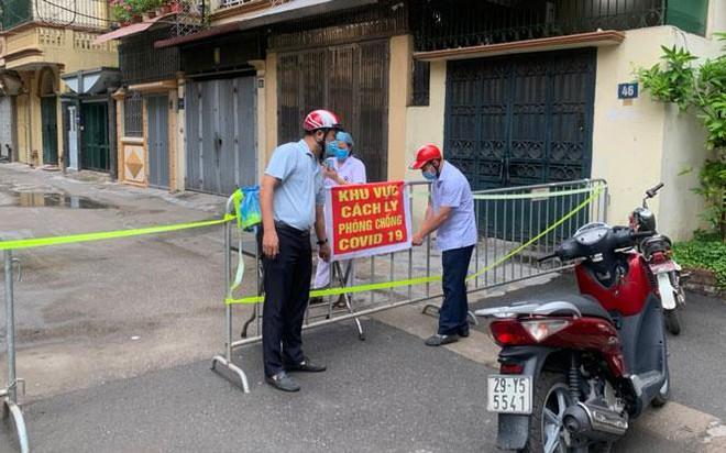 Hà Nội: Phát hiện ca Covid-19 mới ở phố Trần Nhân Tông, nơi từng là ổ dịch đã hết phong toả