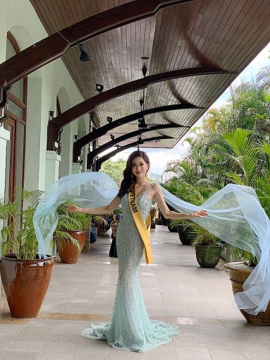 a hau phuong nga va no luc noi bat tai miss grand international 2018