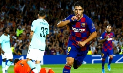 Barca hạ Inter nhờ cú đúp của Suarez