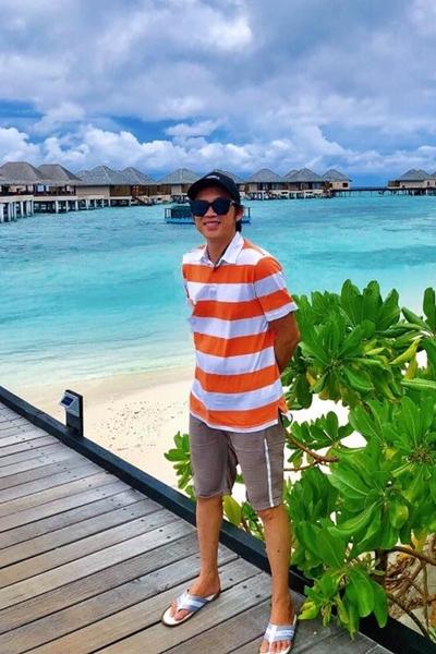hoai linh du lich maldives