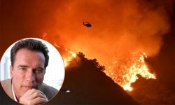 Các sao Hollywood sơ tán vì cháy rừng