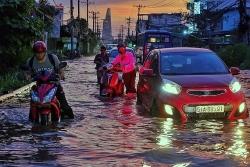 Đường Sài Gòn mênh mông nước