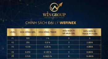 Cảnh báo nguy cơ lừa đảo dưới hình thức đa cấp, cá cược Wefinex