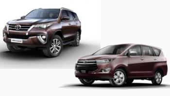 Hơn 700 xe Toyota Fortuner và Innova bị triệu hồi do lỗi kỹ thuật