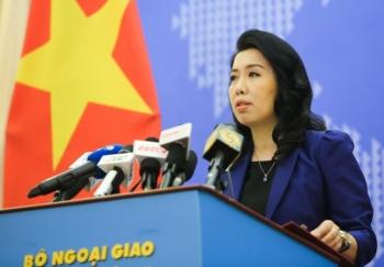 Việt Nam phản đối Trung Quốc tập trận gần Hoàng Sa