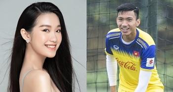 Văn Hậu bị đồn hẹn hò người đẹp Hoa hậu Việt Nam