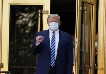 Ông Trump chưa khỏi bệnh, vì sao đã xuất viện?