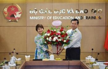 Bộ GD&ĐT bổ nhiệm Vụ trưởng Vụ Giáo dục Đại học