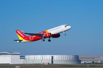 Sáu tháng đầu năm 2021, doanh thu vận tải hàng không của Vietjet tăng 51%