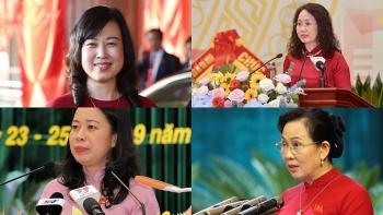 Chân dung 4 nữ Bí thư Tỉnh ủy khóa mới