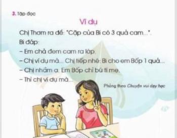 Vì sao phải thu hồi sách Tiếng Việt lớp 1 Cánh Diều?