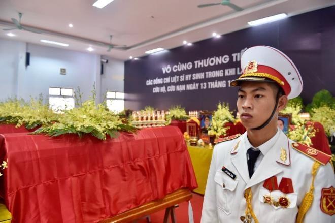 Lễ viếng, truy điệu 13 liệt sĩ hy sinh tại thủy điện Rào Trăng 3