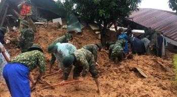 Hiện trường sạt lở đất, vùi lấp hơn 20 cán bộ, chiến sĩ sư đoàn 337 ở Quảng Trị
