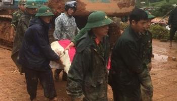 TRỰC TIẾP: Tìm thấy 3 thi thể cán bộ, chiến sĩ sư đoàn 337 bị đất sạt lở vùi lấp