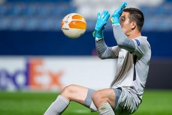 Filip Nguyễn giữ sạch lưới tại Europa League