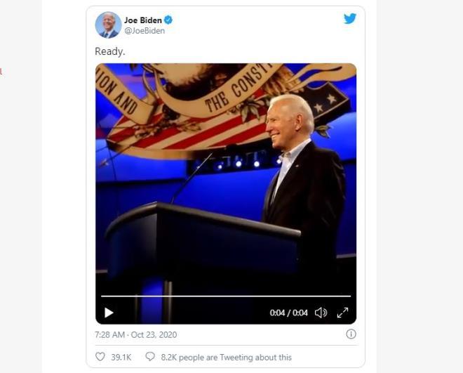 Trực tiếp: Buổi tranh luận Tổng thống Mỹ cuối cùng - 1