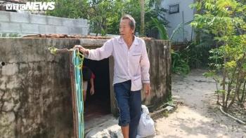 Dân Quảng Nam sẵn sàng vào hầm tránh bão số 9