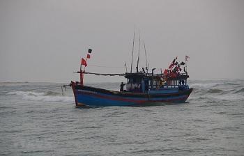 Chìm tàu cá, 12 ngư dân mất tích