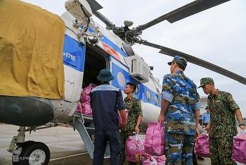 Quân đội huy động 7 trực thăng ứng phó bão Molave