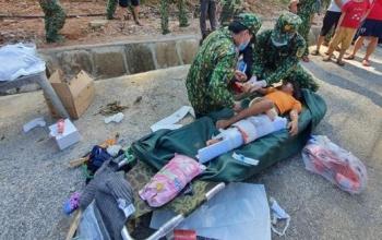 Những hình ảnh đầu tiên của các nạn nhân vụ sạt lở ở Quảng Nam