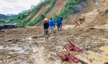 Sạt lở núi làm 11 người mất tích ở Phước Sơn: Tìm thấy 5 thi thể
