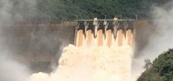 Hàng loạt hồ thủy điện, thủy lợi ở Nghệ An bắt đầu xả lũ
