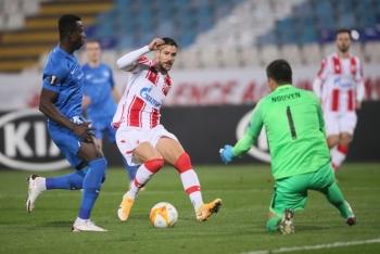 Thủ môn Filip Nguyễn thủng lưới 5 bàn trong trận thua ở Europa League