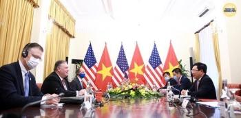 Ngoại trưởng Pompeo thăm Việt Nam: Mỹ cam kết hợp tác thúc đẩy an ninh khu vực