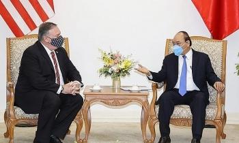 Chuyến thăm đề cao tình bạn với Việt Nam của Ngoại trưởng Mỹ