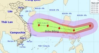 Siêu bão Goni cấp 17 đang hướng vào Biển Đông