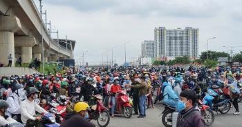 Chuẩn bị đầy đủ phương tiện đưa người dân từ TP Hồ Chí Minh về quê an toàn