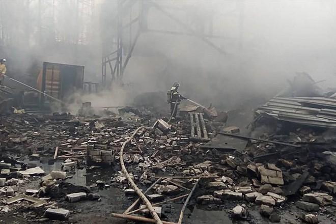 Nổ nhà máy thuốc súng ở Nga, ít nhất 7 người thiệt mạng