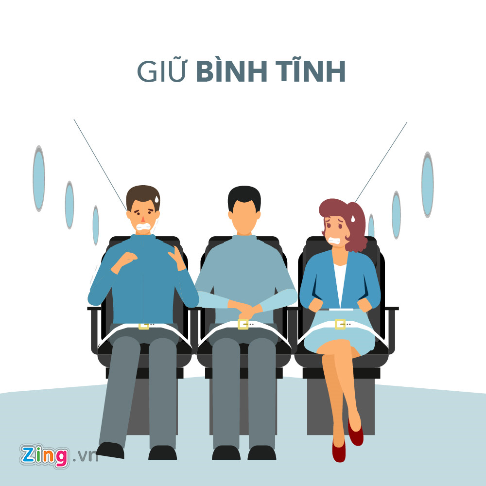 giu binh tinh va 7 ky nang song con khi may bay gap su co