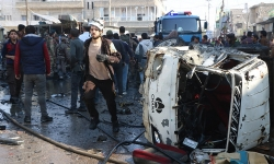 danh bom xe tai mien bac syria 19 nguoi chet