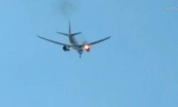 Máy bay chở khách Philippines cháy động cơ trên không