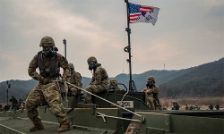 Mỹ bác tin đồn rút quân khỏi Hàn Quốc