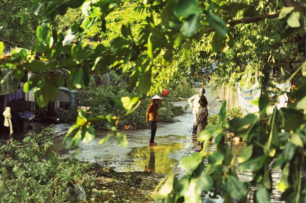 Phố cổ Hội An sau bão lũ