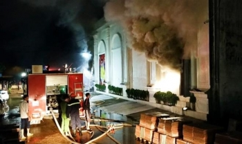 Cháy quán bar ở Vĩnh Phúc, 3 người chết
