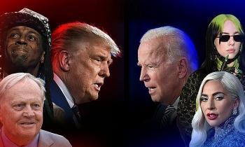 Sao Hollywood chia phe ủng hộ Trump và Biden