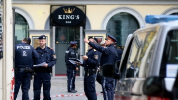 Áo bắt giữ một số đối tượng tình nghi liên quan đến vụ xả súng tại Vienna