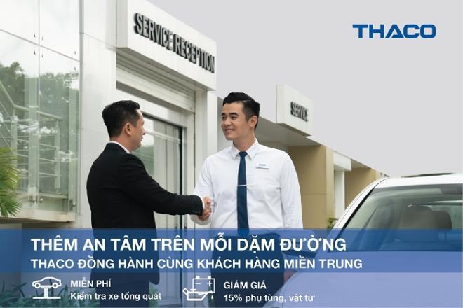 THACO đồng hành cùng khách hàng miền Trung - 1