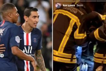 """10 cầu thủ PSG suýt """"chết ngạt"""" trong thang máy"""