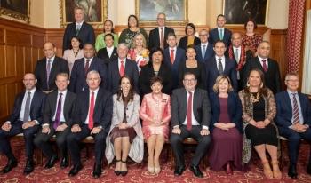 Bà Jacinda Ardern tuyên thệ nhậm chức Thủ tướng New Zealand nhiệm kỳ 2