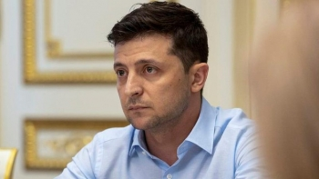 Tổng thống Ukraine nhiễm Covid-19