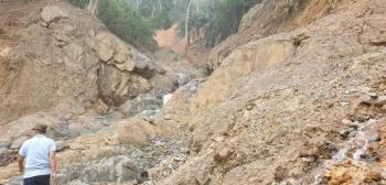 Quảng Nam lại xảy ra sạt lở núi, một phụ nữ thiệt mạng